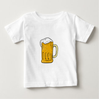 Beer Mug Drawing Baby T-Shirt