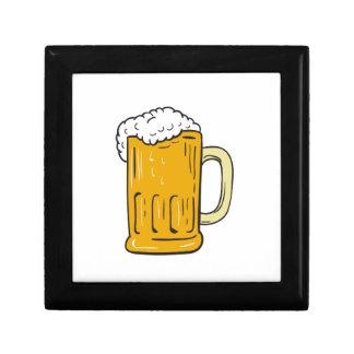Beer Mug Drawing Gift Box