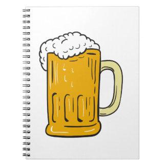 Beer Mug Drawing Notebook