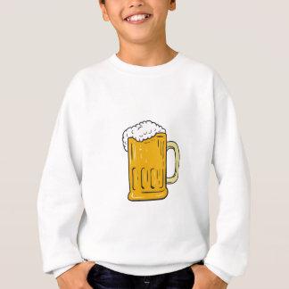 Beer Mug Drawing Sweatshirt