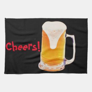 Beer Mug Kitchen Towel