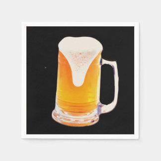 Beer Mug Paper Napkin