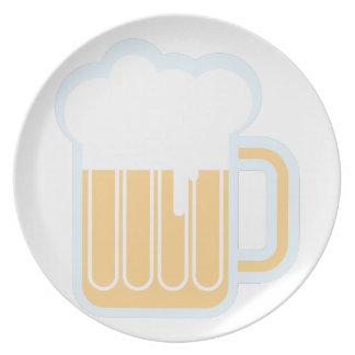 Beer Mug Party Plate