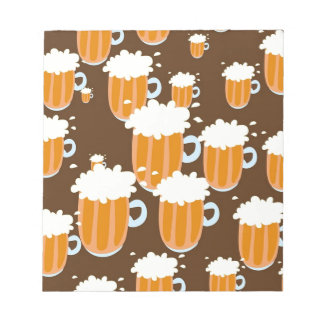Beer Mugs Notepad