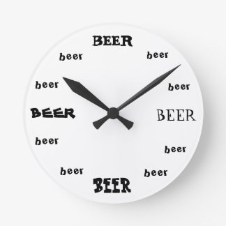 Beer O'Clock Wall Clock