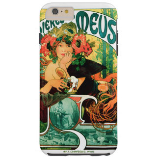 Beer of the Meuse Alphonse Mucha Fine Art Tough iPhone 6 Plus Case