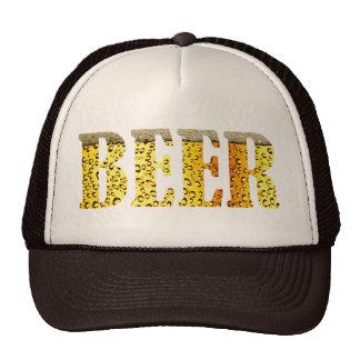 Beer on Brain Cap Trucker Hat