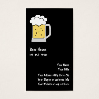 Beer Or Brewery Business Cards