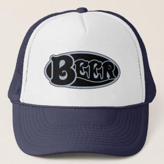 Beer Oval - Slate Blue Trucker Hat