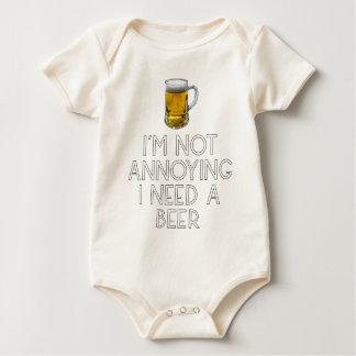Beer party Octoberfest drinking festival beer jug Baby Bodysuit