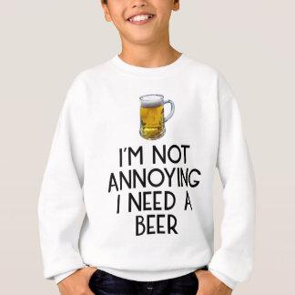 Beer party Octoberfest drinking festival beer jug Sweatshirt