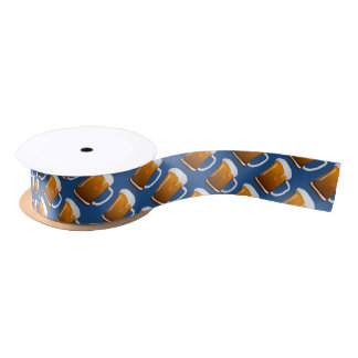 Beer Party Satin Ribbon