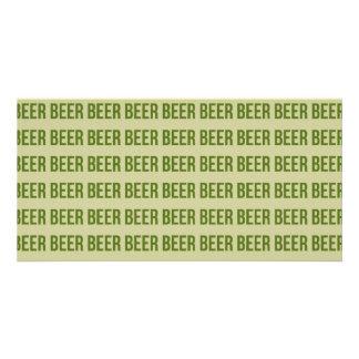 Beer Custom Photo Card