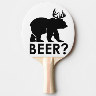 beer ping pong paddle