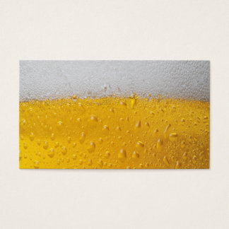 Beer Pint Business Card
