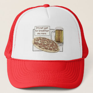 Beer & Pizza for Breakfast Hat