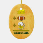 Beer plus Football plus Cheese Equals Wisconsin