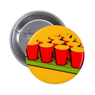 Beer Pong 2 Inch Round Button