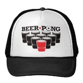 Beer Pong Basic - Red Trucker Hat