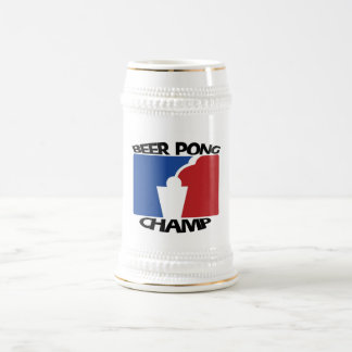 Beer Pong Champ Stein