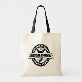 Beer Pong Champion Canvas Bag