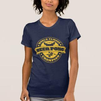 Beer Pong Champion Tee Shirt