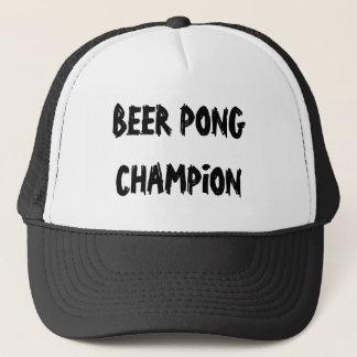 Beer Pong Champion Trucker Hat
