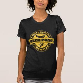 Beer Pong Champion Tshirts