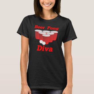 Beer Pong Diva T-Shirt