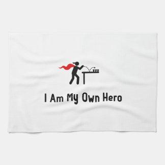 Beer Pong Hero Kitchen Towel
