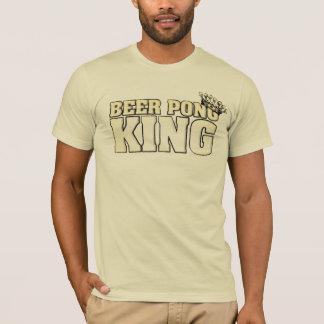 Beer Pong King T Shirts