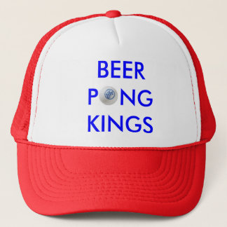 Beer Pong Kings Trucker Hat