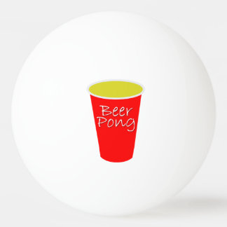Beer Pong Ping Pong Ball