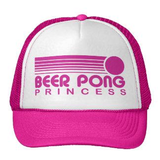 Beer Pong Princess Mesh Hats
