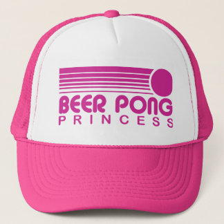 Beer Pong Princess Trucker Hat