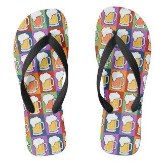 BEER Pop-Art sandals