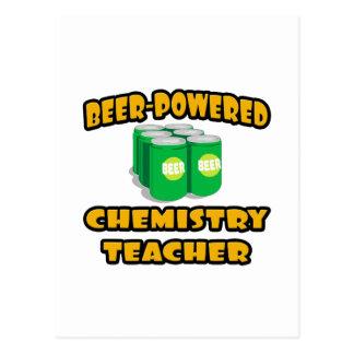 Beer-Powered Chemistry Teacher Post Card
