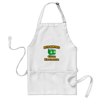 Beer-Powered Civil Engineer Standard Apron