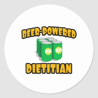 Beer-Powered Dietitian Stickers