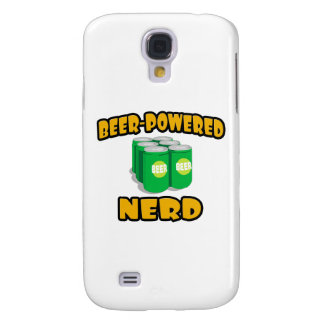Beer-Powered Nerd Samsung Galaxy S4 Covers