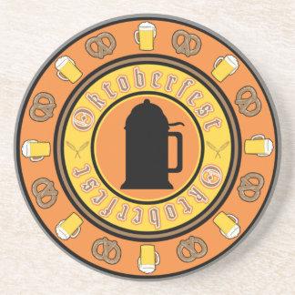 Beer, Pretzels, Stein Coaster