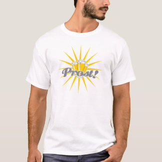 Beer Prost Rays_3c T-Shirt