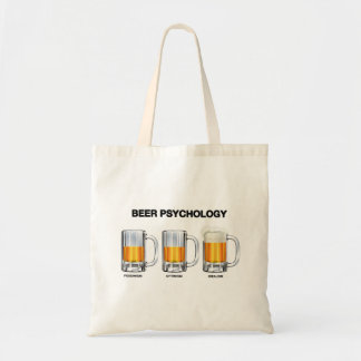 Beer Psychology Tote Bag