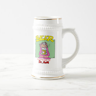 Beer...Recommended by Doctor Mom Beer Steins