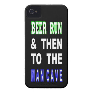 Beer Run & Then To The Man Cave Case-Mate iPhone 4 Case