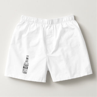 Beer shaped boxers