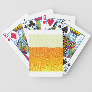 beer snob bicycle playing cards