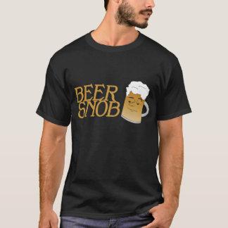 Beer Snob Black Tee