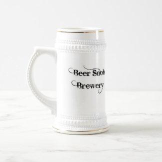 Beer Snob Brewery Stein Mugs