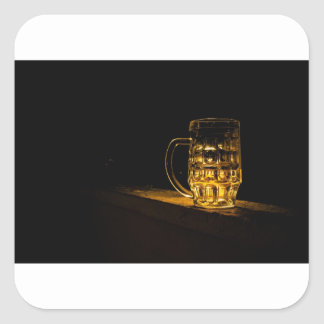 Beer... Square Sticker